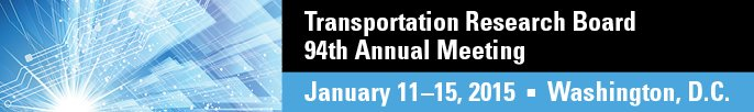 Transportation Research Board (TRB) 94th Annual Meeting