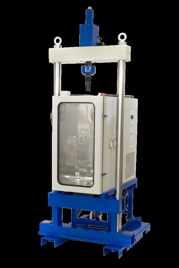 Servo-Hydraulic Universal Testing Machine – 100 kN - James